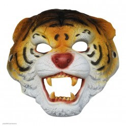 """Маска """"Тигр"""" (вспененная резина)"""