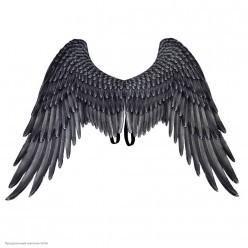 Крылья ангела чёрные, 75*105 см