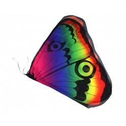 """Крылья бабочки 104*47см """"павлин"""", шифон"""