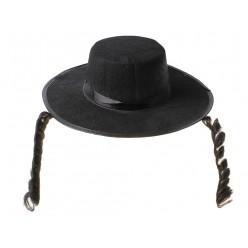 Шляпа с пейсами (фетр)