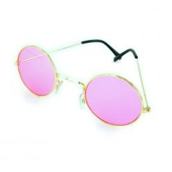 Очки Леннона розовые