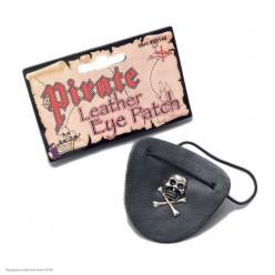 Повязка пирата на глаз (кожзам)
