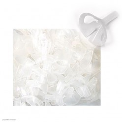 Зажим для шара Белый