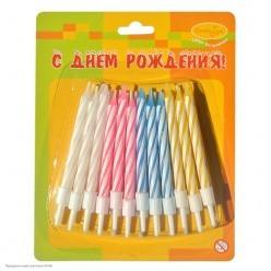 Свечи для торта Мини 6см (24шт)
