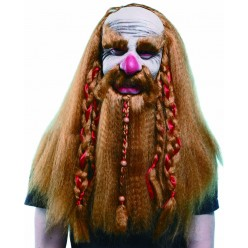 Маска Гном с волосами (латекс)