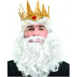 "Набор ""Король/Нептун"" (парик, борода, корона)"