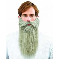 Борода Седая 30*33см (на резинке)