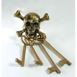Связка Ключей пиратская (пластик)