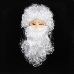 Набор Деда Мороза: парик-шар, борода 35см