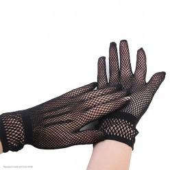 Перчатки Сеточка мини (чёрные)