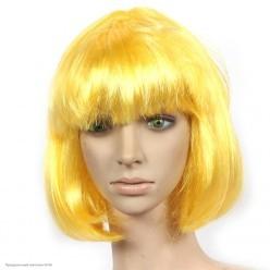 Парик Каре (жёлтый) 30см