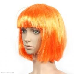 Парик Каре (оранжевый) 30см
