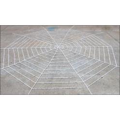 Паутина мягкая 5м (12 кругов, 3,2м) белая
