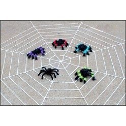 Паук-гигант 30см цветной (тело 9*5см)