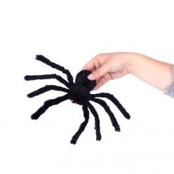 Паук-гигант 30см чёрный (тело 9*5см)