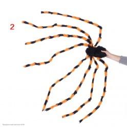 Паук гигант 200см цветной (тело 20*12см)