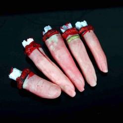 Пальцы оторванные 5шт (имитация)