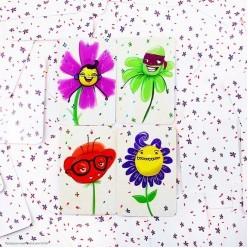 """Игра детская на память и реакцию """"Волшебные цветы"""""""