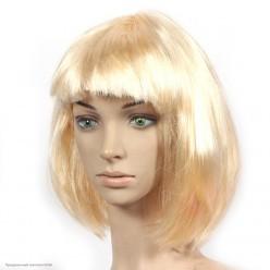 Парик Каре (блондин) 30см