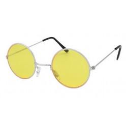 Очки Джона Леннона жёлтые