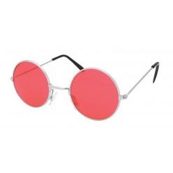Очки Леннона красные