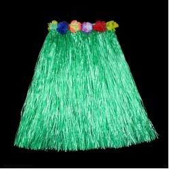 Юбка гавайская 60см (зелёная)