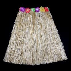 Юбка гавайская 60см (соломенная)