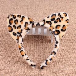 Ободок Уши Леопарда