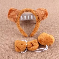 Набор Медведя (уши, бабочка, хвост)