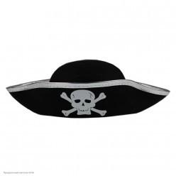 Шляпа Пирата детская (фетр)