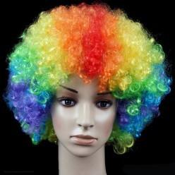 "Парик Шар ""Клоун"" (многоцветный)"