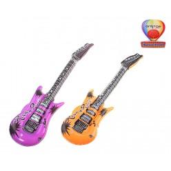 Гитара надувная 95 см, цвета ассорти