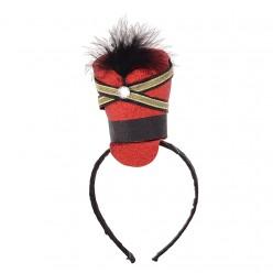 Мини шляпка Мажоретка (на ободке)