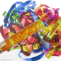 Пневмохлопушка 30см (фольга конфетти)