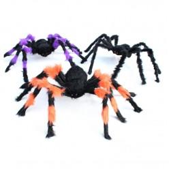 Паук-гигант 90см цветной (тело 18*9см)