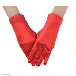 Перчатки Атлас Мини 23см красные