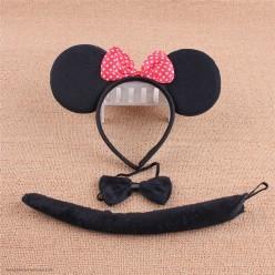 Набор Мышки Минни (уши, бабочка, хвост)