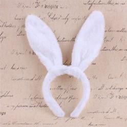 Ободок Уши Зайца (белые)