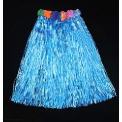 Юбка гавайская 60см (синяя)