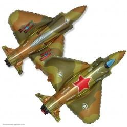 Шар фольга Истребитель 72*45см
