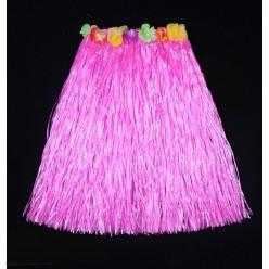 Юбка гавайская 60см (розовая)