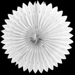 Фант бумажный резной 40см белый