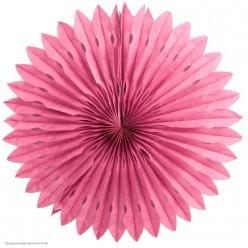 Фант бумажный резной 40см розовый