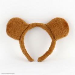 Ободок Уши Медведя (плюш)
