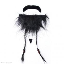 Набор Джека Воробья (борода, усы клеевые)