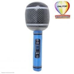 Микрофон надувной 70 см