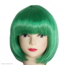 Парик Каре (зелёный) 30см