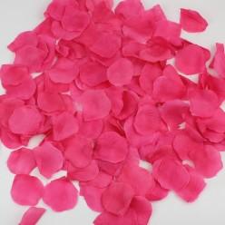 Лепестки роз (300шт) малиновые