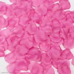 Лепестки роз (150шт) розовый яркий