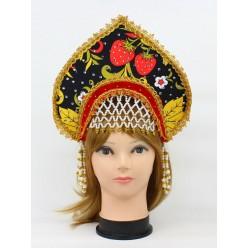 """Кокошник """"Галина"""" хохлома"""